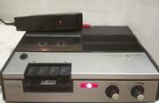 Диктофон кассетный Unitra ZRK DK-1110,  рабочий