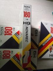 Видеокассеты NOVA. Новые,  в упаковке